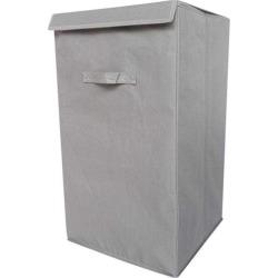 Folding Laundry Hamper - TUSK College Dorm Storage - Gray