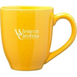Western Carolina University - 16-ounce Ceramic Coffee Mug - Gold