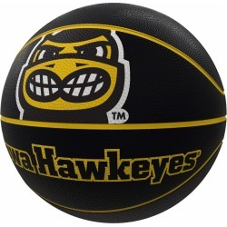 Iowa Mascot Official-Size Rubber Basketball