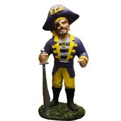 "East Carolina  8"" Painted Resin Mascot Figurine Oxbay by Seasons Designs"