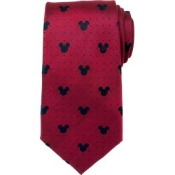 Disney Mickey Mouse Red Pin Dot Mens Tie found on MODAPINS from balfour for USD $59.99