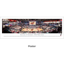 Cincinnati Bearcats Basketball - Unframed Panoramic Print