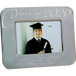 Engraved Class Of Graduation Picture Frame 8x10