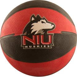 Northern Illinois Mini-Size Rubber Basketball