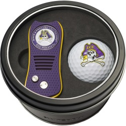 Tin Gift Set with Switchfix Divot Tool and Golf Ball East Carolina Pirates found on Bargain Bro Philippines from balfour for $31.25