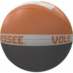 Tennessee Court Official-Size Rubber Basketball