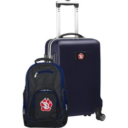 South Dakota Coyotes Deluxe 2-Piece Backpack and Carry on Set
