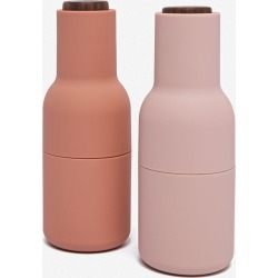 Salt and Pepper Bottle Grinders, Nude (Set of 2)