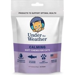 Under the Weather Calming Soft Chews Cat Supplement, 60 count