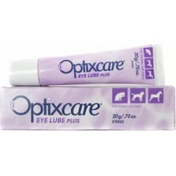 Optixcare Dog & Cat Eye Lube Plus Lubricating Gel, 0.70-oz tube found on Bargain Bro India from Chewy.com for $20.99
