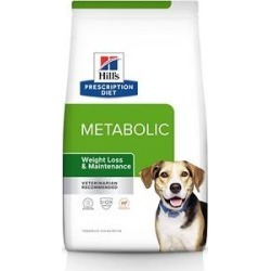 Hill's Prescription Diet Metabolic Weight Management Lamb Meal & Rice Formula Dry Dog Food, 17.6-lb found on Bargain Bro India from Chewy.com for $69.99