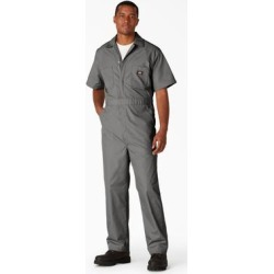 Dickies Men's Big & Tall Short Sleeve Coveralls - Gray Size XL (33999) found on Bargain Bro Philippines from Dickies.com for $38.99