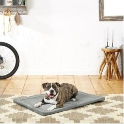 Frisco Dog Crate Mat, Dark Gray, 42-in found on Bargain Bro India from Chewy.com for $30.99