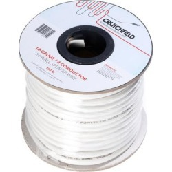 Crutchfield 14 Gauge In-Wall 4 Conductor Wire, 100 Foot Roll found on Bargain Bro India from Crutchfield for $119.99