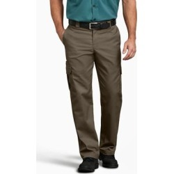 Dickies Men's Flex Regular Fit Straight Leg Cargo Pants - Mushroom Size 32 (WP595) found on Bargain Bro India from Dickies.com for $29.99