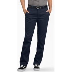 Dickies Women's Flex Slim Fit Work Pants - Dark Navy Size 12 (FP776F) found on Bargain Bro India from Dickies.com for $26.99