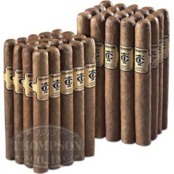 Thompson Gold Label 2-Fer Natural Corona - PACK (40) found on Bargain Bro Philippines from thompsoncigar.com for $42.95