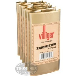 Villiger Export Pipe Tobacco Jamaican 1.5oz - 1.5 Ounce Pouch found on Bargain Bro India from thompsoncigar.com for $4.22
