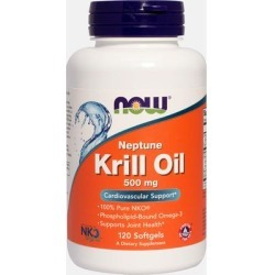 NOW Foods Neptune Krill 500 mg-120 Softgels found on Bargain Bro Philippines from Puritan's Pride for $32.50