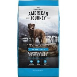 American Journey Salmon & Sweet Potato Recipe Grain-Free Dry Dog Food, 12-lb bag found on Bargain Bro India from Chewy.com for $26.99