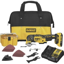 DEWALT 20V MAX XR Brushless Cordless 3-Speed Oscillating Multi-Tool Kit - 1 Battery (2Ah), Model DCS356D1 found on Bargain Bro India from northerntool.com for $199.00