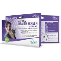 Orivet Health Screen & Life Plan Cat DNA Test Kit found on Bargain Bro Philippines from Chewy.com for $69.95