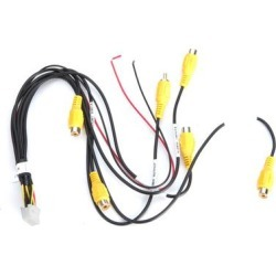 PAC RPA-16P5V Camera Harness for select PAC kits and Interfaces found on Bargain Bro Philippines from Crutchfield for $24.99