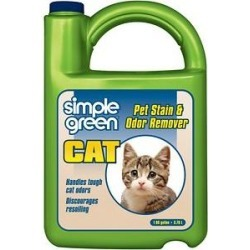 Simple Green Cat Stain & Odor Remover, 128-oz bottle found on Bargain Bro India from Chewy.com for $16.29