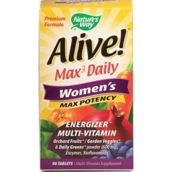 Nature's Way Alive! Max Women's Energizer Multi Vitamin-90 Tablets found on Bargain Bro Philippines from Puritan's Pride for $19.99