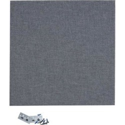 AS AlphaSorb Panel GOM 238 Medium Grey 2' x 2' x 1