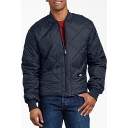 Dickies Men's Diamond Quilted Nylon Jacket - Dark Navy Size M (61242) found on Bargain Bro India from Dickies.com for $44.99