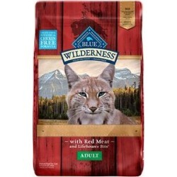 Blue Buffalo Wilderness Rocky Mountain Recipe with Red Meat Adult Grain-Free Dry Cat Food, 10-lb bag found on Bargain Bro India from Chewy.com for $33.99