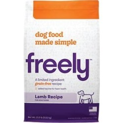 Freely Lamb Recipe Limited Ingredient Grain-Free Dry Dog Food, 21-lb bag found on Bargain Bro from Chewy.com for USD $53.19