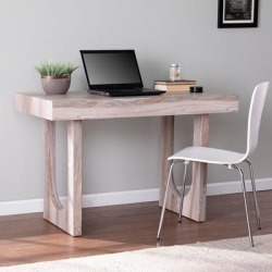 Chadkirk Faux Marble Writing Desk - Southern Enterprises HO1126337 found on Bargain Bro India from totally furniture for $216.49