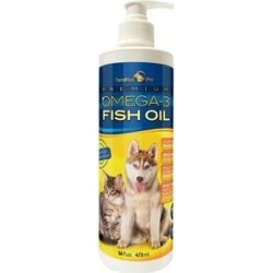 TerraMax Pro Premium Omega-3 Fish Oil Dog Supplement, 16-oz bottle found on Bargain Bro India from Chewy.com for $19.99