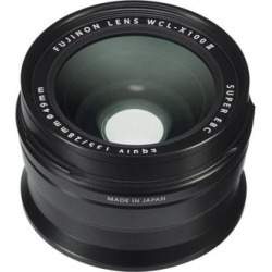 """Fujifilm WCL-X100 II Wide Conversion Lens for X100F/X100T/X100S/X100 Black Small"""