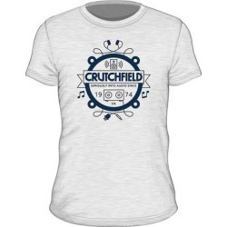 SS Crutchfield Camp White XL Short- Sleeved Camp T-shirt White XL found on Bargain Bro India from Crutchfield for $15.00