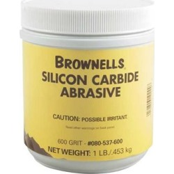 Brownells Silicon Carbide Abrasive Grit - 600 Grit Silicon Carbide