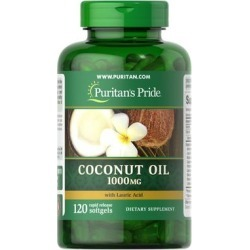 Puritan's Pride Coconut Oil 1000 mg-120 Rapid Release Softgels found on Bargain Bro India from Puritan's Pride for $8.99