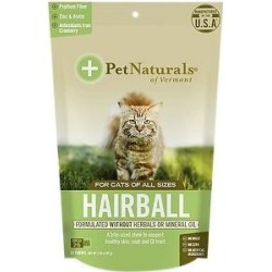 Pet Naturals of Vermont Hairball Cat Chews, 30 count