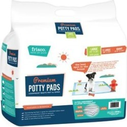 Frisco Training & Potty Pads, 22-in x 23-in, 100 count, Unscented found on Bargain Bro India from Chewy.com for $23.93