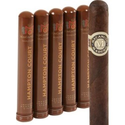 Macanudo Maduro Hampton Court Corona Tubo - PACK (5) found on Bargain Bro Philippines from thompsoncigar.com for $32.50