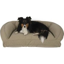 Carolina Pet Quilted Orthopedic Bolster Dog Bed w/Removable Cover, Sage, Small/Medium found on Bargain Bro India from Chewy.com for $182.36