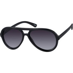 Zenni Women's Aviator Sunglasses Black Plastic Frame found on Bargain Bro India from Zenni Optical for $29.95