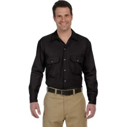 Dickies 574 Long-Sleeve Work Shirt in Black size Small found on Bargain Bro from ShirtSpace for USD $26.27