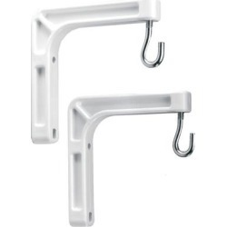 Da-Lite Screens 40932 Pair White #6 Wall Mt. Brackets for Model B Screen found on Bargain Bro India from Crutchfield for $20.00