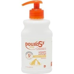Douxo S3 PYO Antiseptic Antifungal Dog & Cat Shampoo, 6.7-oz bottle found on Bargain Bro from Chewy.com for USD $18.99