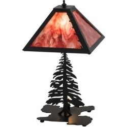 Meyda Lighting Leafs Edge Tall Pines 21 Inch Table Lamp - 175751 found on Bargain Bro India from Capitol Lighting for $450.00