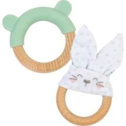 Ring and Bunny Teether - Mint found on Bargain Bro Philippines from macys.com for $22.00