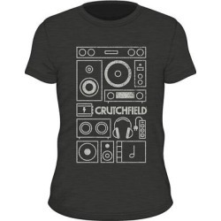 SS Product Stack Black S SS Product Stack t-shirt Black S found on Bargain Bro India from Crutchfield for $15.00